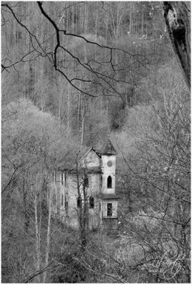 Silenced St. John's in Stotesbury—my best-selling print.